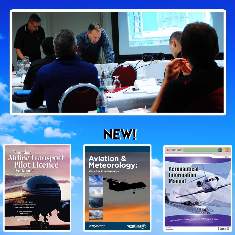 atpl iatra ground school w workbook aim and met aerocourse rh aerocourse com